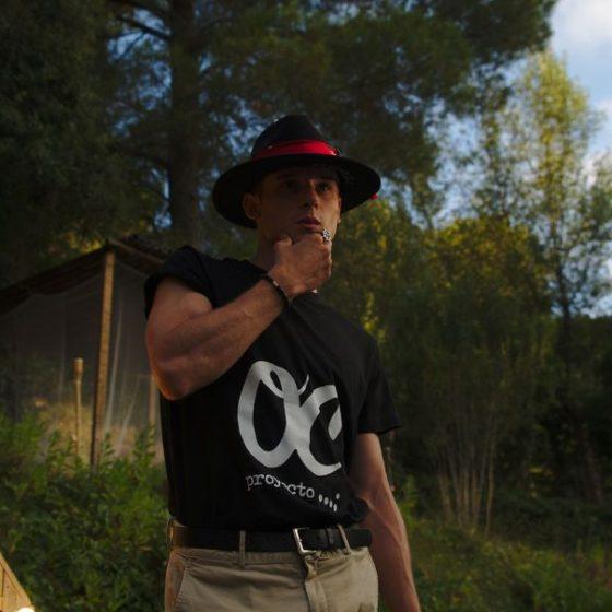 Camiseta proyecto OC negra