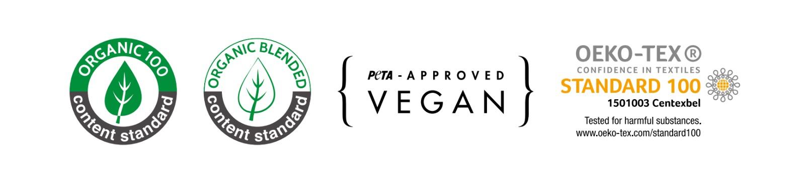 camiseta vegana certificado